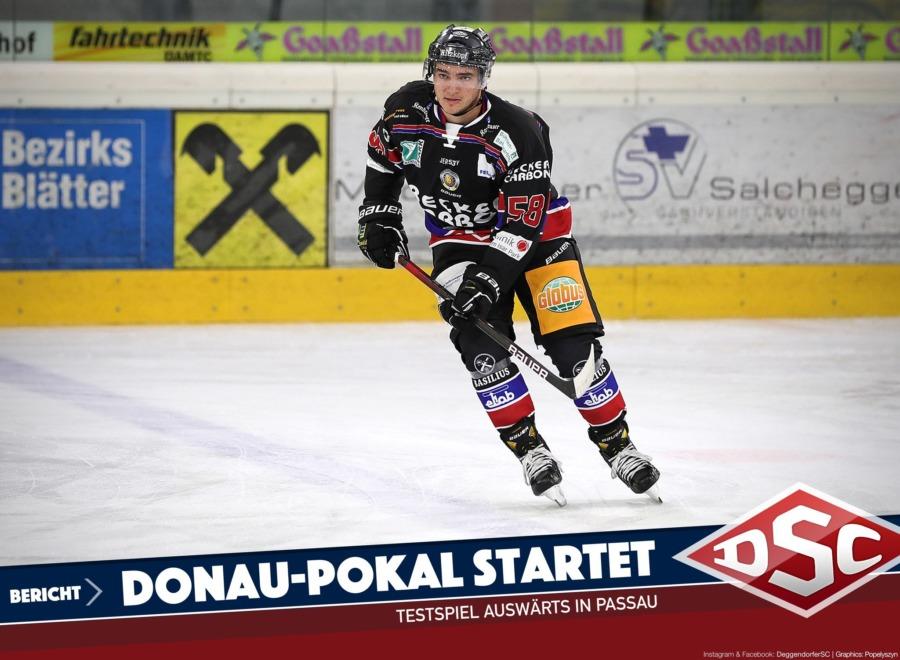 Deggendorfer SC startet in Passau in den Donau-Pokal