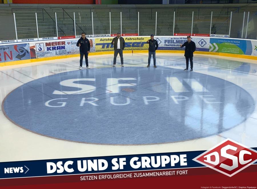 SF Gruppe und der Deggendorfer SC arbeiten weiterhin zusammen