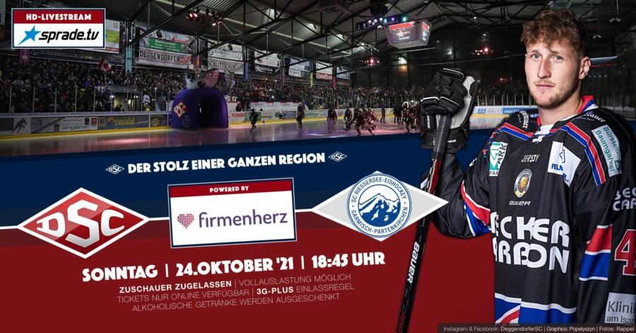 Deggendorfer SC empfängt den SC Riessersee