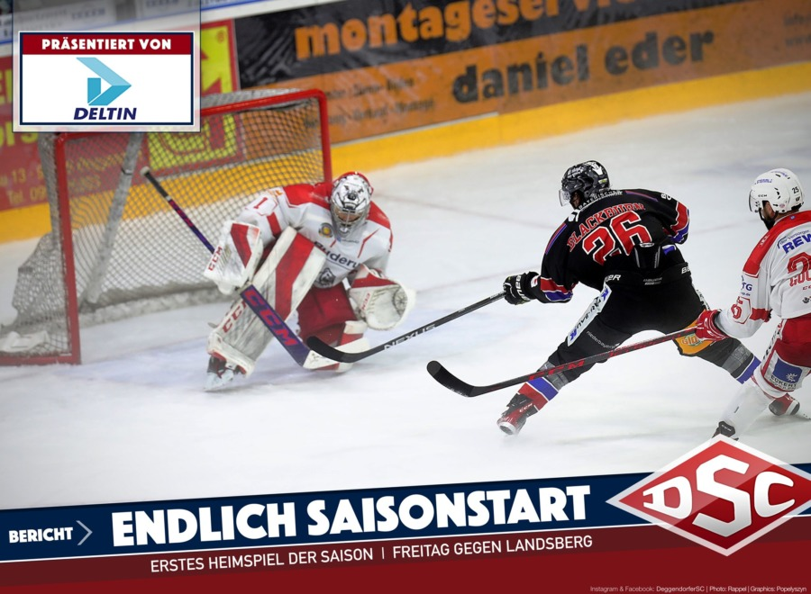 Es wird ernst! Deggendorfer SC trifft zum Ligaauftakt auf den HC Landsberg