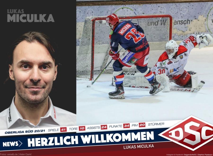 DSC meldet Vollzug: Lukas Miculka kommt aus Erding